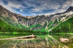 Parque nacional de geleira imagem de stock