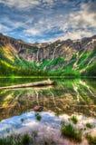 Parque nacional de geleira fotografia de stock