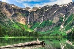 Parque nacional de geleira imagens de stock royalty free
