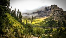 Parque nacional de geleira Fotos de Stock
