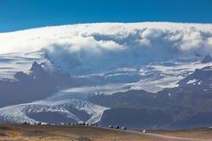 Parque nacional de geleira de Vatnajokull, Islândia Fotografia de Stock Royalty Free