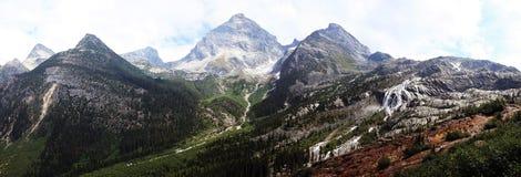 Parque nacional de geleira do panorama (Canadá) Fotos de Stock