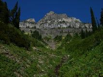 Parque nacional de geleira em Montana imagem de stock royalty free