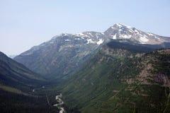 Parque nacional de geleira em Montana, EUA fotografia de stock
