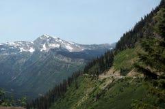 Parque nacional de geleira em Montana, EUA foto de stock