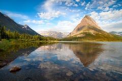 Parque nacional de geleira. Montana Fotografia de Stock
