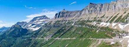 Parque nacional de geleira que vai à estrada de Sun imagem de stock royalty free