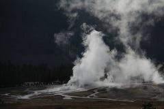 Parque nacional de Geysir yellowstone Foto de Stock Royalty Free