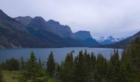 Parque nacional de glaciar Fotos de archivo