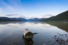 Parque nacional de glaciar Fotos de archivo libres de regalías