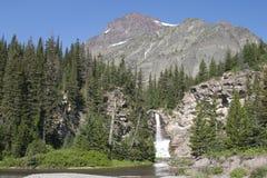 Parque nacional de glaciar Fotografía de archivo libre de regalías