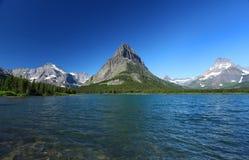 Parque nacional de glaciar en Montana Fotos de archivo