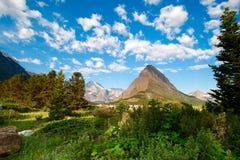 Parque nacional de glaciar. Montana imágenes de archivo libres de regalías