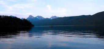 Parque nacional de glaciar. Montana fotografía de archivo