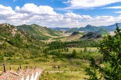 Parque nacional de Gorkhi Terelj, Mongólia Imagens de Stock Royalty Free