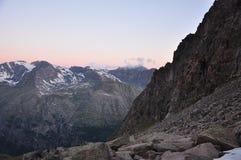 Parque nacional de Gran Paradiso. Vale de Aosta, Italy foto de stock