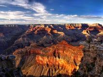 Parque nacional de Grand Canyon, atracción turística los E.E.U.U. Foto de archivo libre de regalías