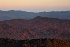 Parque nacional de Great Smoky Mountains foto de stock