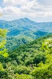 Parque nacional de Great Smoky Mountains cerca de Gatlinburg, Tennessee Imágenes de archivo libres de regalías