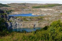 Parque nacional de Gros Morne Foto de Stock Royalty Free