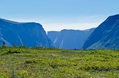 Parque nacional de Gros Morne Imagen de archivo libre de regalías