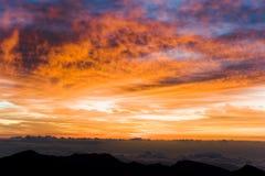 Parque nacional de Haleakala Foto de Stock