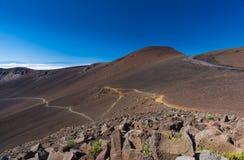 Parque nacional de Haleakala Fotos de Stock Royalty Free
