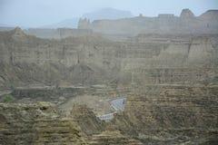Parque nacional de Hingol - Paquistão fotografia de stock