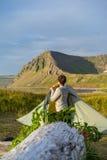 Parque nacional de Hornstrandir, Islândia imagem de stock royalty free