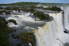 Parque nacional de Iguazu Foto de archivo