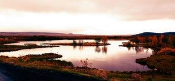 Parque nacional de Islândia Fotografia de Stock Royalty Free