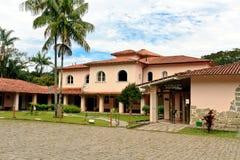 Parque nacional de Itatiaia - centro de los visitantes Imagen de archivo libre de regalías