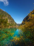 Parque nacional de Jiuzhaigou Imagen de archivo libre de regalías