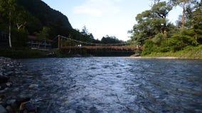 Parque nacional de Kamikochi en la estación de verano almacen de metraje de vídeo