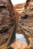 Parque nacional de Karijini, Australia occidental Fotografía de archivo libre de regalías