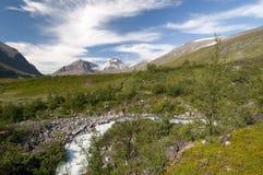 Parque nacional de Kebnekaise Fotos de archivo libres de regalías