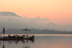 Parque nacional de Khao Sok Fotografia de Stock Royalty Free
