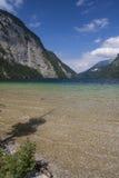 Parque nacional de Konigsee Fotografía de archivo