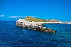 Parque nacional de Kornati Foto de Stock
