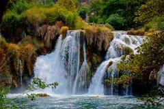 Parque nacional de Krka Fotografía de archivo