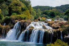 Parque nacional de Krka Imagen de archivo libre de regalías