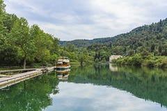 Parque nacional de Krka Imagem de Stock Royalty Free