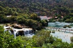 Parque nacional de Krka Fotos de archivo libres de regalías