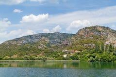Parque nacional de Krka, Croatia Imagem de Stock Royalty Free