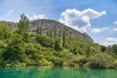 Parque nacional de Krka, Croatia Fotos de Stock