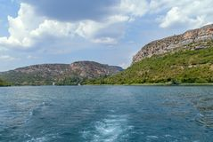Parque nacional de Krka, Croatia Foto de Stock Royalty Free