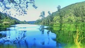 Parque nacional de Krka em Croatia imagens de stock