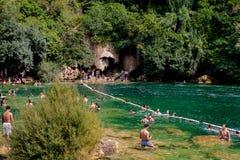 Parque nacional de Krka en Croacia Imágenes de archivo libres de regalías
