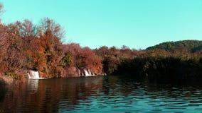 Parque nacional de Krka - outono Fotos de Stock