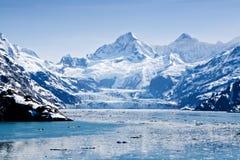 Parque nacional de la bahía de glaciar Fotos de archivo